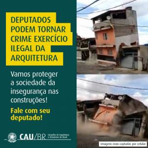 Congresso Nacional discute tornar crime exercício ilegal da Arquitetura e Urbanismo